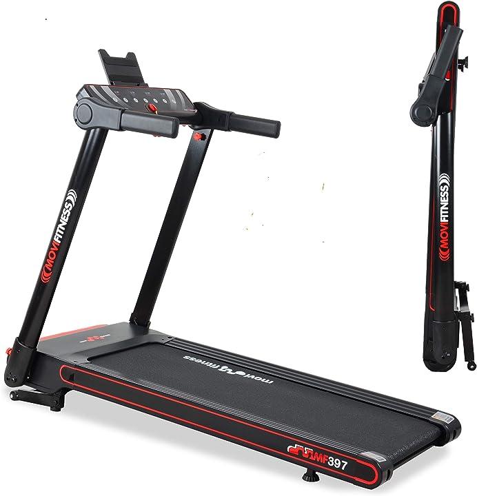 tapis roulant professionale mf297 pieghevole salvaspazio movi fitness