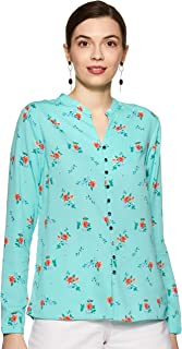 Allen Solly Women's Floral Regular fit Top