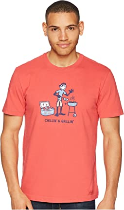 Chillin' & Grillin' Crusher Tee