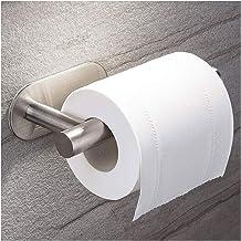 Toilet Paper Holder zelfklevende, Adhesive Toiletrolhouder niet te boren for Badkamer geborsteld roestvrij staal