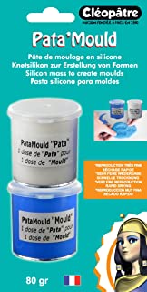 Cleopatre - BLLCC22-80 - Pasta de silicona para hacer moldes, 2x40 gr, bicomponente.