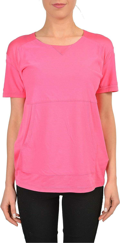 Maison Martin Margiela Pink Short Sleeves Women's Shirt US M IT 42