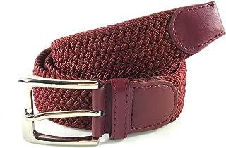 71b19dc1ffe025 MYB Cintura elastica intrecciata per Uomo e Donna - diversi colori e  dimensioni