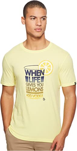 Original Penguin - Short Sleeve When Life Gives You Lemons Tee