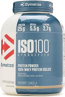 ISO 100 5lbs Dymatize ORIGINAL vainilla 5lbs