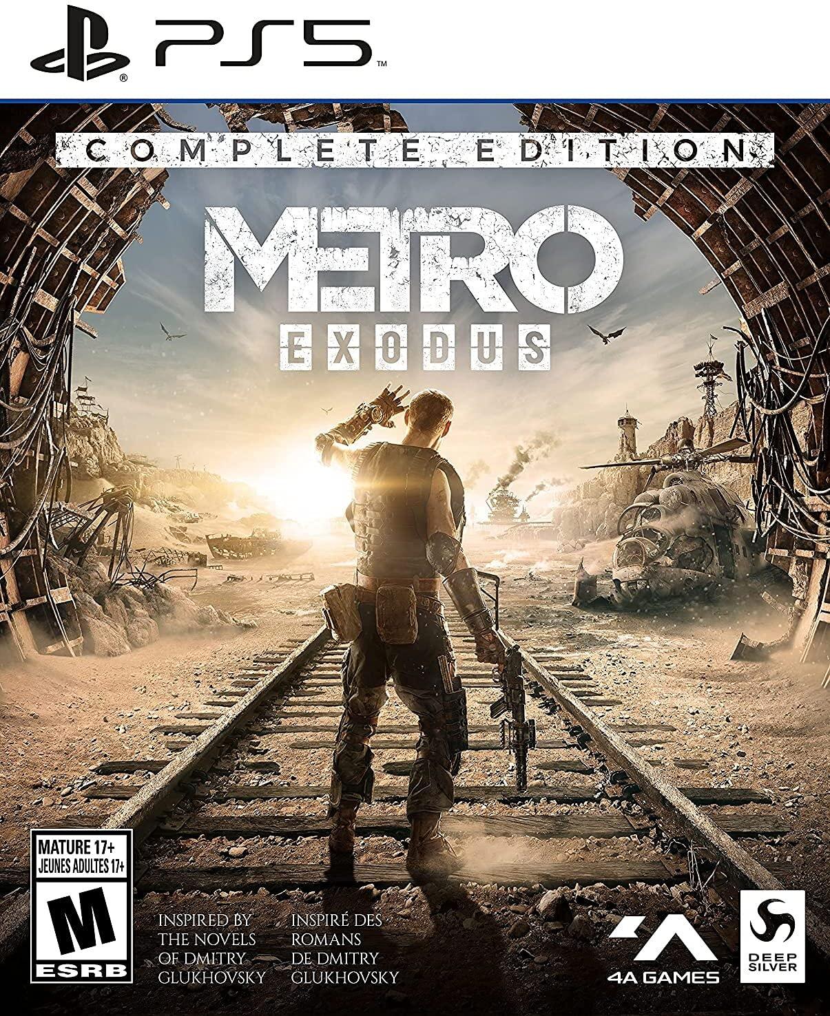 Poster. Metro Exodus: Complete Edition