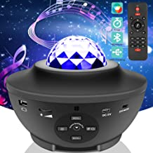 Star Night Light for Kids, Music Starry Projector with 21 Lighting Modes, Bluetooth Music Player, Remote, Timer, USB Power...