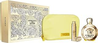 Versace Eros Eau De Parfum Giftset, 100ml + 10ml + Pouch