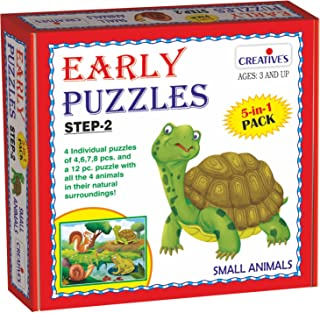 Creative Educational Early Puzzles Step II-Small Animals