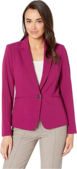 a64b1c37 Bistretch One-Button Jacket. $39.99MSRP: $139.00. Raspberry