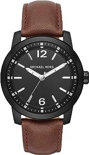 Men's Vonn Brown Leather Watch MK8651