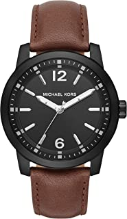 Men's Vonn Brown Leather Watch MK8651