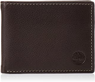 Timberland mens Wellington Leather Rfid Bifold Commuter Security Wallet Wallet
