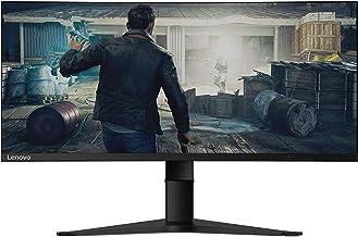 Lenovo G34w-10 34-Inch WQHD Curved Gaming Monitor, 21:9 Ultra-Wide, 3 Side NearEdgeless, 3440 x 1440, AMD FreeSync, 144Hz,...