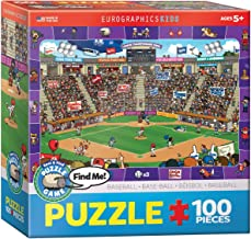 Baseball - Spot and Find 100-Piece Puzzle