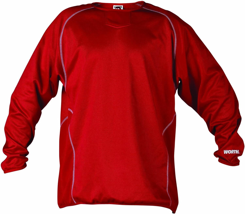 倉庫 Worth Wfp 激安セール Men's Long Pullover Sleeve Fleece