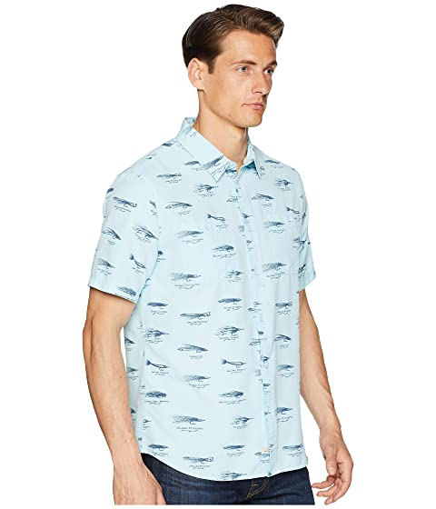 Waterman Quiksilver Lures técnica Wake Camisa Blue Crystal zxCwn1OTEq