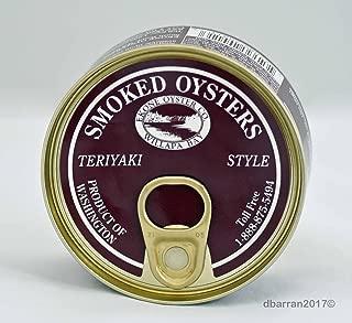 Ekone Oysters Company, Oysters Smoked Teriyaki, 3 Ounce