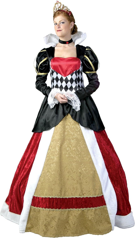 para mayoristas Elite Queen of Hearts Fancy Dress Costume X-Large X-Large X-Large  venta