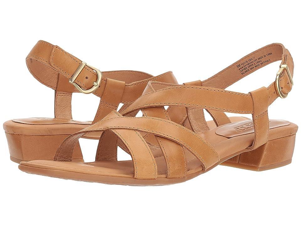 b93a0a6c6d62 Born Bouvet Easy (Tan Full Grain Leather) Women s Shoes