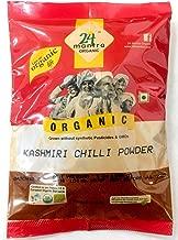 24 Mantara Organic Powder, Kashmiri Chilli, 7 Ounce