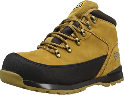 JCB Mens 3cx/H Safety Boots Honey 9 UK, 43 EU : boots