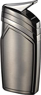 featured product Visol Spark Single Torch Flame Satin Gunmetal Lighter