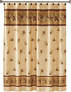 SKL Home Pinehaven Shower Curtain, Multicolored