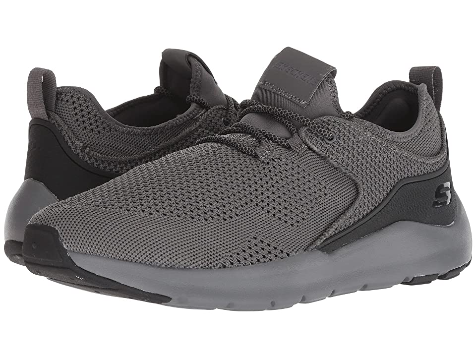 SKECHERS Nichlas Lishear (Charcoal/Black) Men