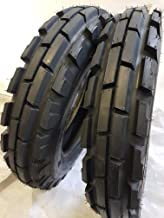 (2 TIRES + 2 TUBES) 6.00-16 ROAD WARRIOR 8 PLY KNK33 Farm Tractor Tire 60016 6.00X16
