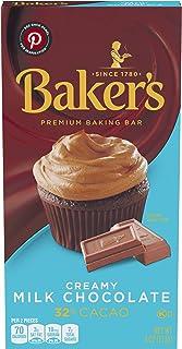 Baker's Creamy Milk Chocolate Premium Baking Bar, 4 oz