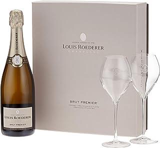 Louis Roederer Champagne Genuss zu Zweit Champagner Geschenkpackung 1 x 0.75 l