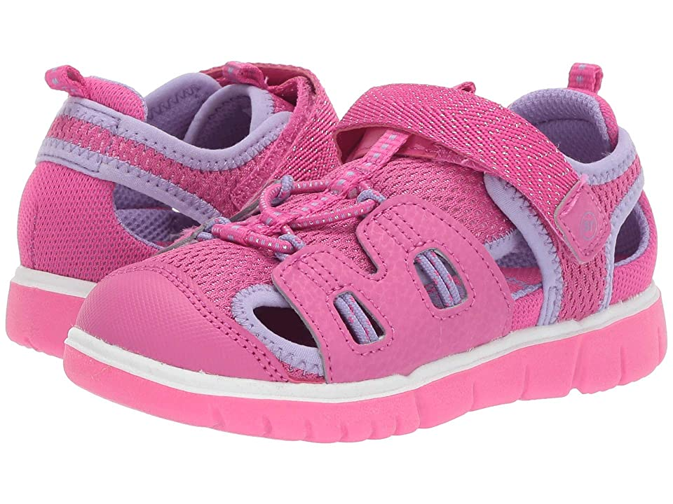 Stride Rite River (Toddler/Little Kid) (Pink) Girl