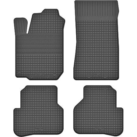 Ko Rubbermat Gummimatten Fußmatten 1 5 Cm Rand Geeignet Zur Renault Twingo Ii Bj 2007 2014 Ideal Angepasst 4 Teile Ein Set Auto