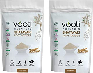 Vooti Naturals SHATAVARI (Asparagus racemosus) Powder 100% Pure 100 gm-Pack of 2