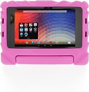 Gumdrop [Stand for Google Nexus 7 2ND Generation/Shock Resistant Case with Handle] Foam Tech Pink ft-NEX7V2-Pnk