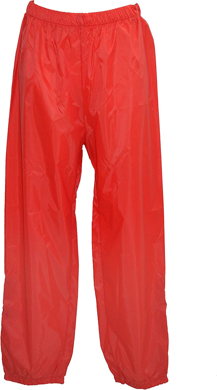 antivento ed impermeabili; unisex pantaloni da pioggia Taglie dalla SX alla XXL in 15 colori K-Way