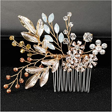 Dreamy Floral and Gold Hair Clip Sets