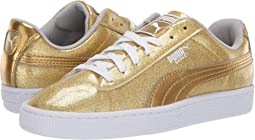 Basket Metallic Slip-On (Big Kid)