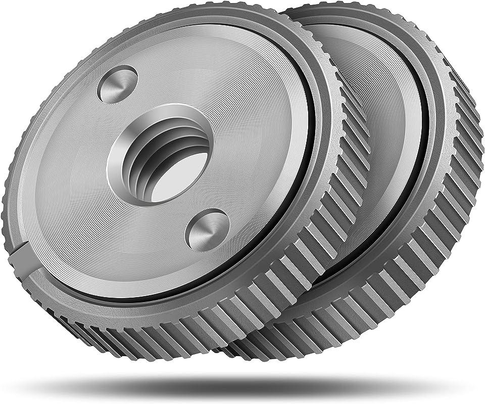 Ventvinal Schnellspannmutter SDS Clic M14, für alle Winkelschleifer von AEG, Black & Decker, Dewalt, Flex, Hitachi, Metabo, Makita etc.(2x spannmutter)