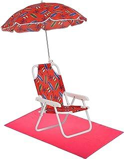 Dreamwave Boys' Swim Essentials - Boys Beach Chair with Umbrella and Towel