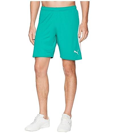 PUMA Liga Shorts (Pepper Green/Puma White) Men