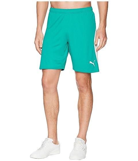 White Green Pepper Shorts PUMA Puma Liga FwZPxxX