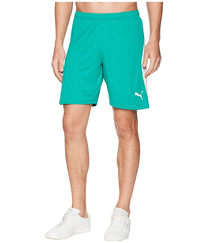 PUMA Liga Shorts (Pepper Green/Puma White) Men
