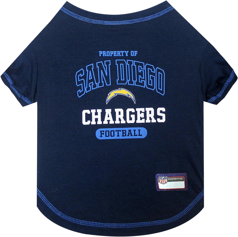 Pets First San Diego Chargers TShirt, Medium