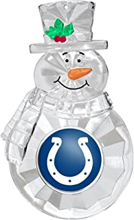 NFL Indianapolis Colts Traditional Snowman Ornament