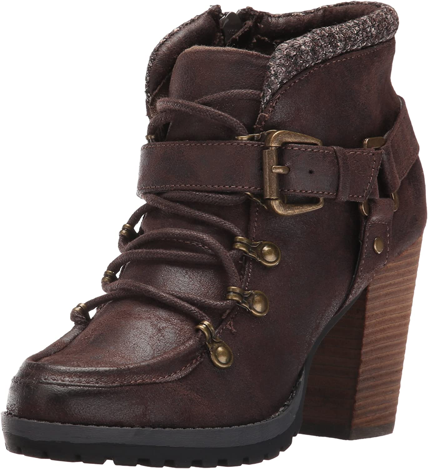 Not Rated Womens So Gully Ankle Bootie