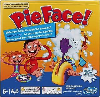 Hasbro Pie Face Game , Multi Color - B7063
