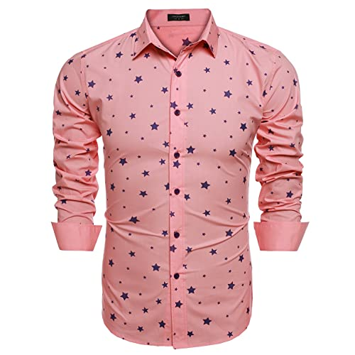 find Brand Womens Shirt In Star Print with Long Sleeve