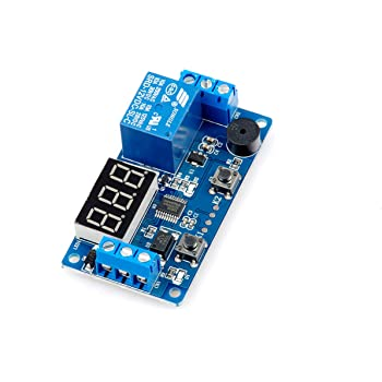 Multifunction Digital Time Infinite Delay Switch Timer Relay Module DC5V 12V VEC